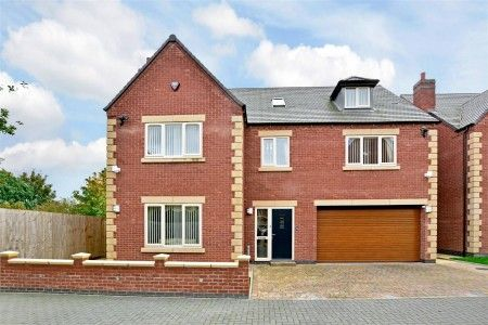 Thumbnail Detached house for sale in Oak Drive, The Hollow, Littleover, Derby