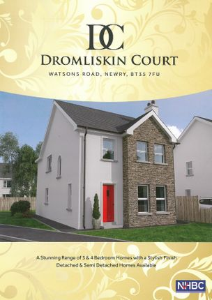 Thumbnail Semi-detached house for sale in Dromliskin Court, Watsons Road, Newry