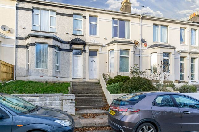 Thumbnail Terraced house for sale in South View Terrace, Plymouth