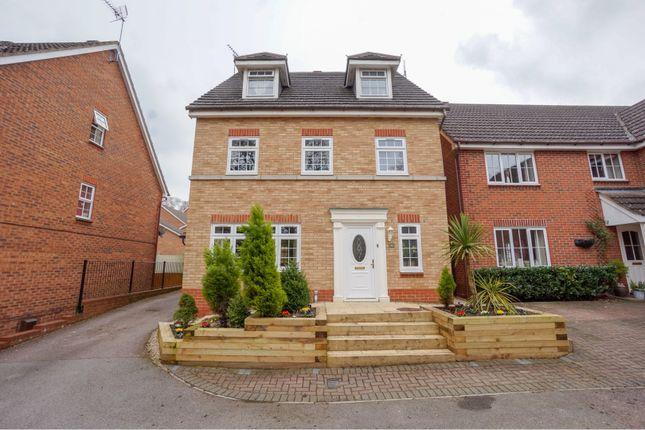 Thumbnail Detached house for sale in Quantock Close, Stevenage