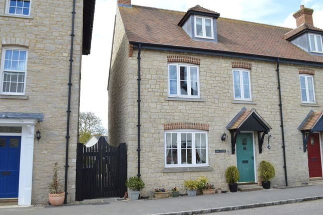 Thumbnail Semi-detached house for sale in Walnut Road, Mere, Warminster
