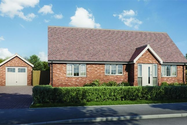Thumbnail Detached bungalow for sale in Plot 4 'old Stables', Walton Road, Kirby-Le-Soken, Frinton-On-Sea, Essex
