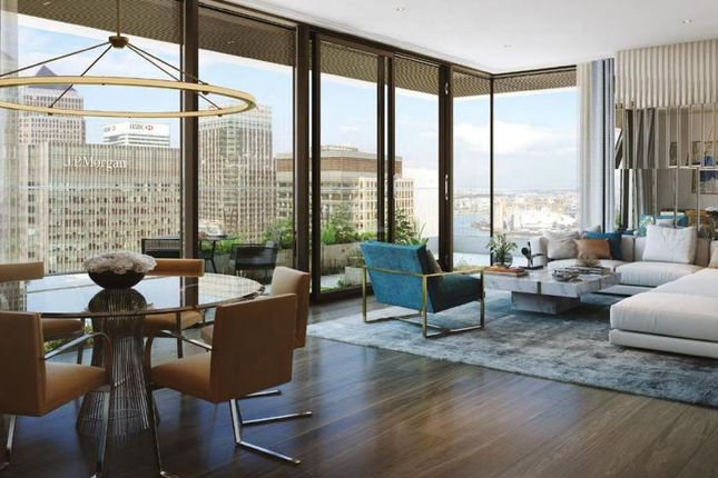 Thumbnail Flat for sale in Wardian London, East Tower, Marsh Wall, Canary Wharf