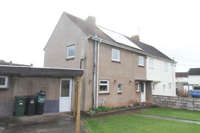 Thumbnail Semi-detached house for sale in Henley Park, Yatton, Bristol