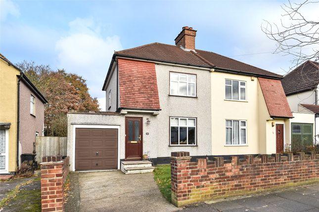 Thumbnail Semi-detached house for sale in Walden Avenue, Chislehurst