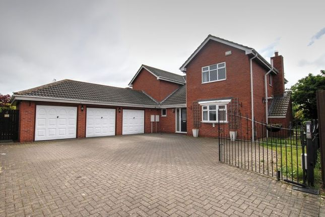 Detached house for sale in Farndale Court, Willow Steads, Blyth