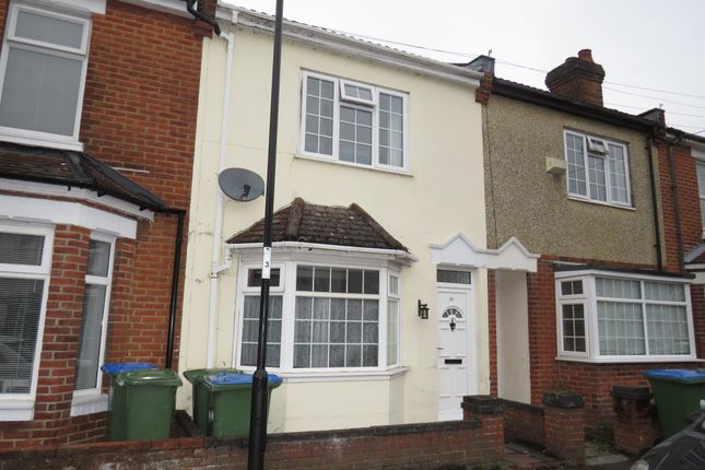 Thumbnail Terraced house for sale in Shayer Road, Shirley, Southampton