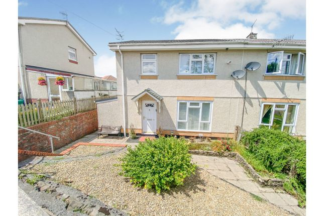 Thumbnail Semi-detached house for sale in Bryncoed, Aberdare