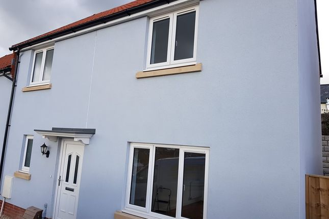 Thumbnail Terraced house to rent in Dukes Way, Axminster, Devon