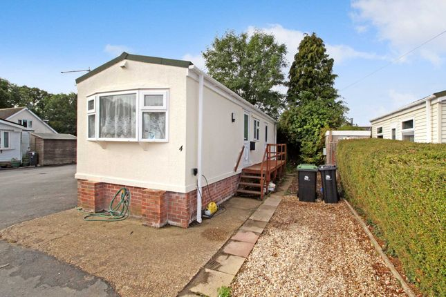 Thumbnail Mobile/park home for sale in Ashley Wood Park, Tarrant Keyneston, Blandford Forum