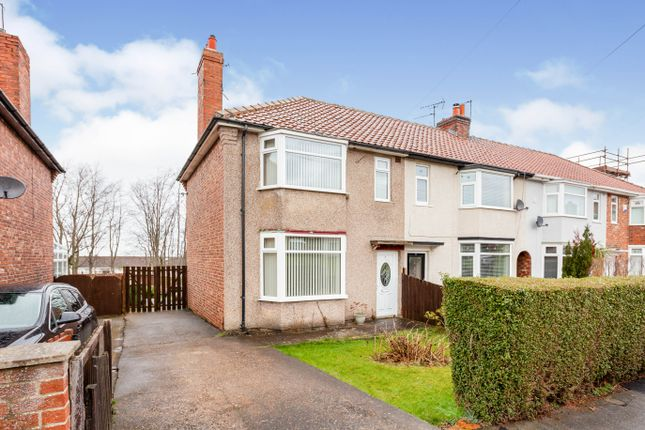 Thumbnail Semi-detached house for sale in The Hall Close, Ormesby, Middlesbrough