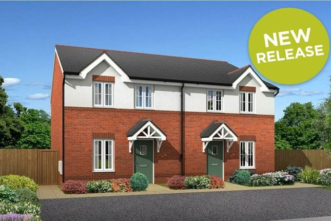 "Thumbnail Semi-detached house for sale in ""Howden"" at Main Road, New Brighton, Mold"