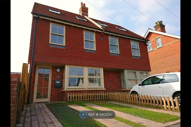 Thumbnail Semi-detached house to rent in Wellands Road, Southampton