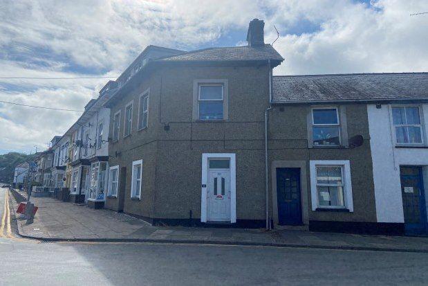 Thumbnail Flat to rent in Snowdon Street, Porthmadog