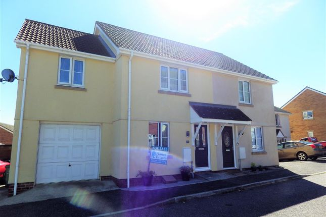 Thumbnail Semi-detached house for sale in Westcots Drive, Winkleigh