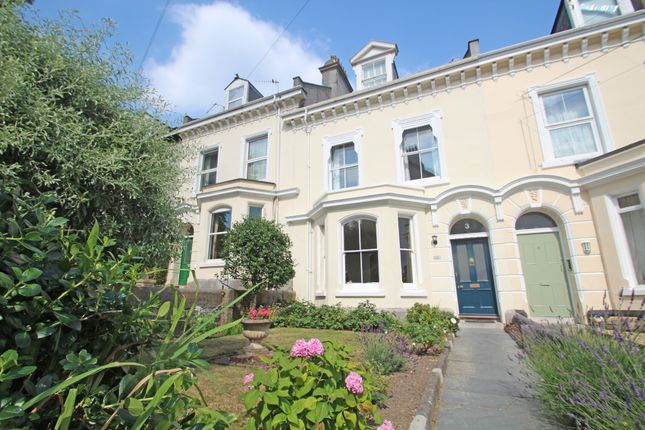 Thumbnail Town house for sale in Havelock Terrace, Stoke, Plymouth