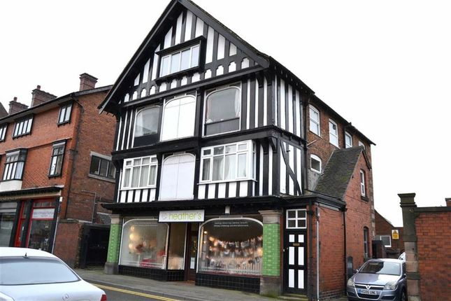 Thumbnail Retail premises for sale in High Street, Leek, Staffordshire