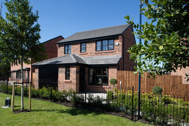 Thumbnail Detached house for sale in Off Crompton Way, Lowton
