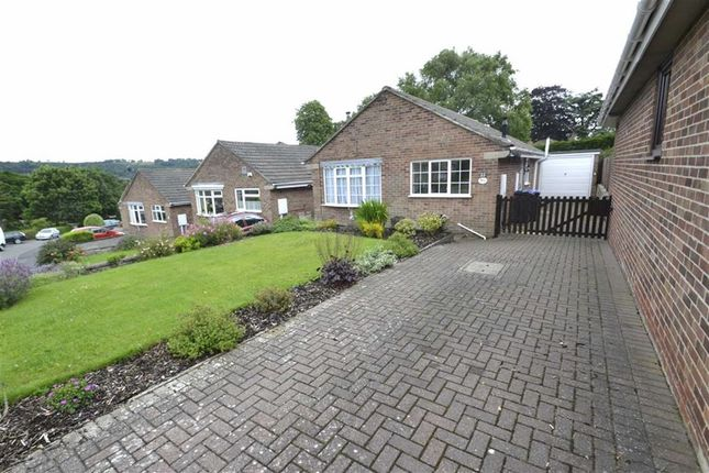 Thumbnail Detached bungalow for sale in Yokecliffe Avenue, Wirksworth, Derbyshire
