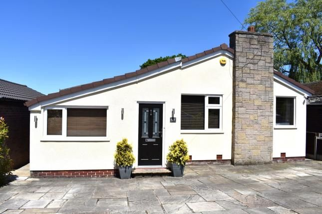 Thumbnail Bungalow for sale in Constable Drive, Marple Bridge, Stockport, Cheshire