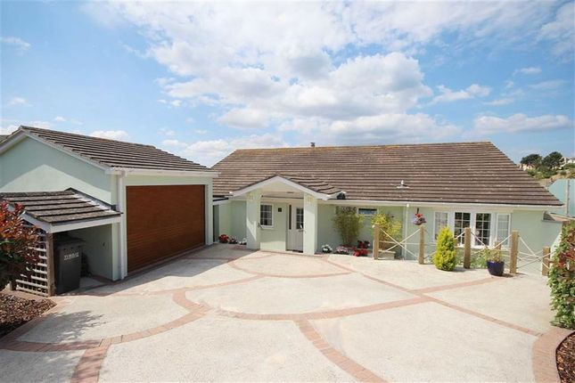 Thumbnail Detached bungalow for sale in Wall Park Close, Wall Park, Brixham