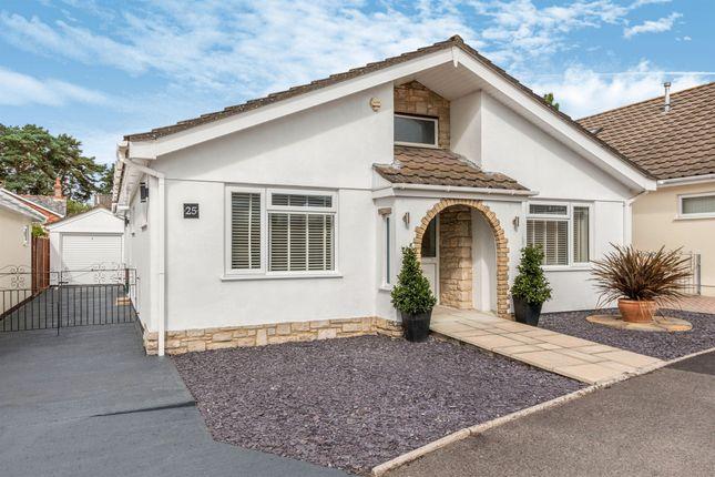 Thumbnail Detached bungalow for sale in Gleneagles Close, Ferndown
