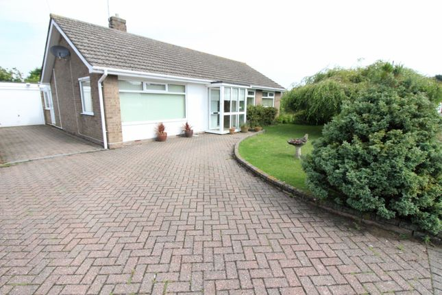 Thumbnail Detached bungalow for sale in Longfellow Road, Caister-On-Sea