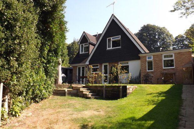 Thumbnail Detached house to rent in Grampian Close, Tunbridge Wells