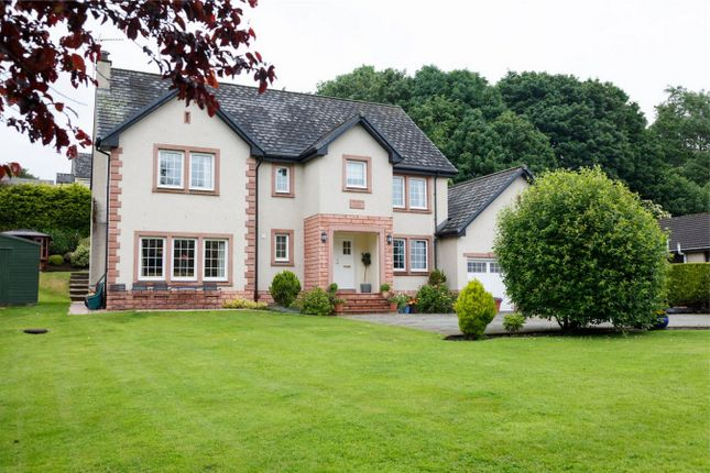 Thumbnail Detached house for sale in Wellside House, Viewfar Road, Milnathort, Kinross-Shire