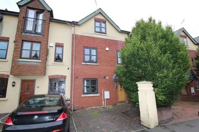 Thumbnail Town house for sale in Romilly Crescent, Pontcanna, Cardiff