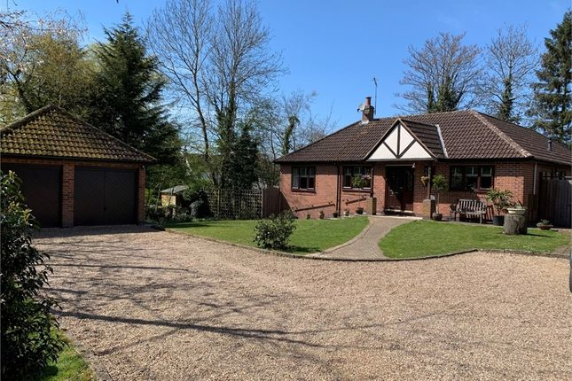 Thumbnail Detached bungalow for sale in The Lindens, Station Road, Broughton Astley, Leicester