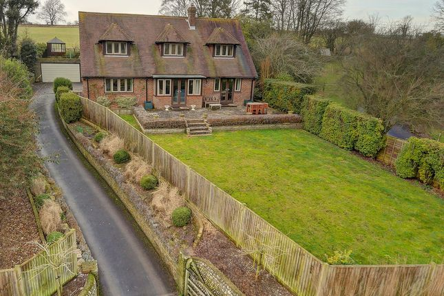 Thumbnail Detached house for sale in Burpham, Arundel