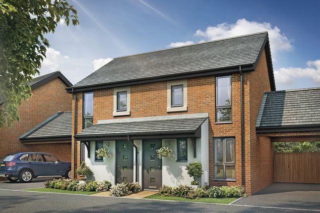 "Thumbnail 2 bedroom semi-detached house for sale in ""The Alnwick"" at Berrington Road, Hampton"