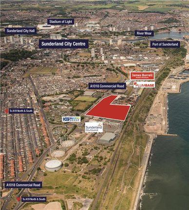 Land for sale in Commercial Road, Hendon, Sunderland