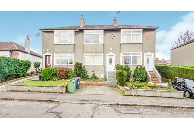 Thumbnail Terraced house for sale in Stamperland Drive, Clarkston, Glasgow