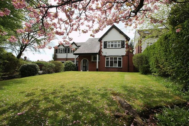4 bed detached house for sale in Higher Lane, Whitefield, Manchester