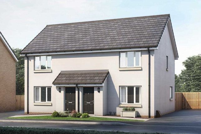 Thumbnail Semi-detached house for sale in The Blair, Ravenscraig, Plot 92, The Castings, Meadowhead Road, Ravenscraig, Wishaw