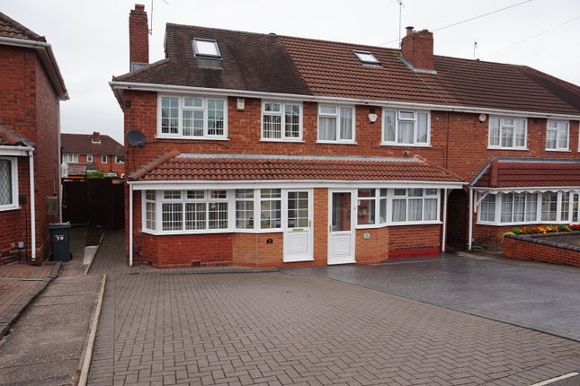 Thumbnail End terrace house for sale in Tideswell Road, Great Barr, Birmingham