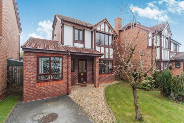 Thumbnail Detached house for sale in Grovewood Gardens, Whiston, Prescot