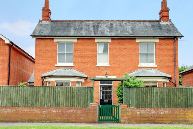 Thumbnail Detached house for sale in Andover Road, Newbury, West Berkshire