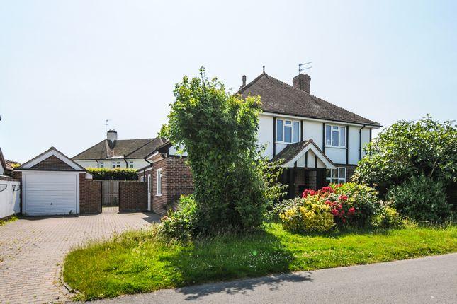 Thumbnail Detached house for sale in Crossbush Road, Felpham