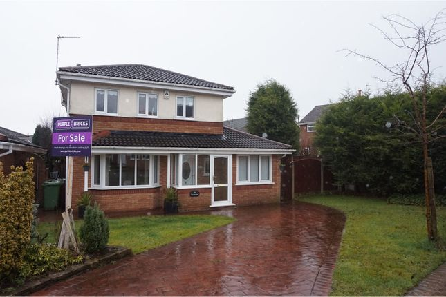Thumbnail Detached house for sale in Ulverston Drive, Rishton, Blackburn