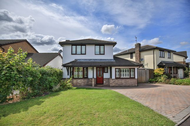 Thumbnail Detached house for sale in Vicarage Gardens, Marshfield, Cardiff