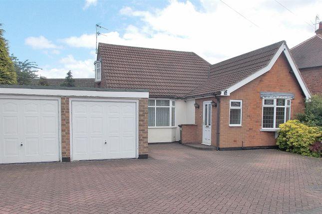 Thumbnail Detached bungalow for sale in Curzon Street, Long Eaton, Nottingham