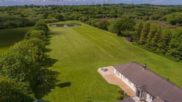 Thumbnail Detached bungalow for sale in Rose Park, Langdon Lane, Kilgetty, Pembrokeshire