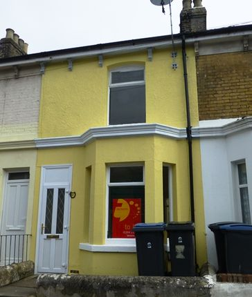 Thumbnail Terraced house to rent in Clarendon Street, Dover
