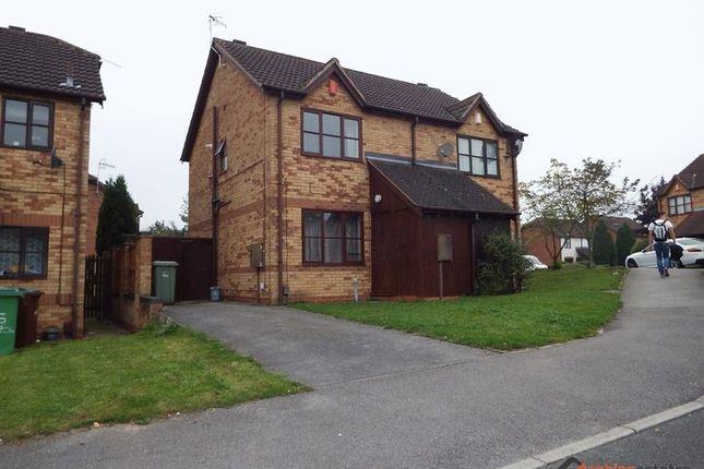Thumbnail Semi-detached house to rent in Heron Drive, Lenton, Nottingham
