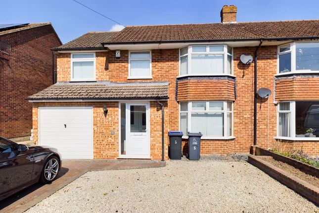 Thumbnail Semi-detached house to rent in Hollowmede, Canterbury, Kent