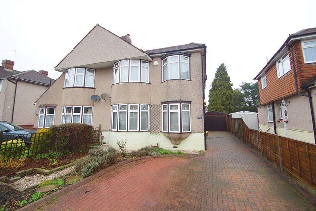 Thumbnail Semi-detached house for sale in Burnt Oak Lane, Sidcup, Kent