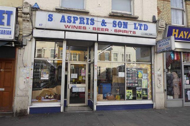 Thumbnail Retail premises to let in Turnpike Lane, London, Haringay